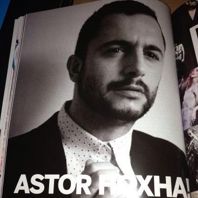 Astor Hoxha fotografato da Agneza Dorkin per Annabel Magazin -Shirt Alberto Incanuti